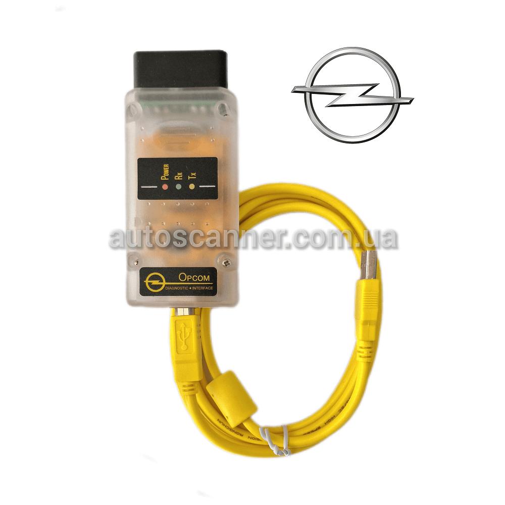 OpCom 1.7v для Opel